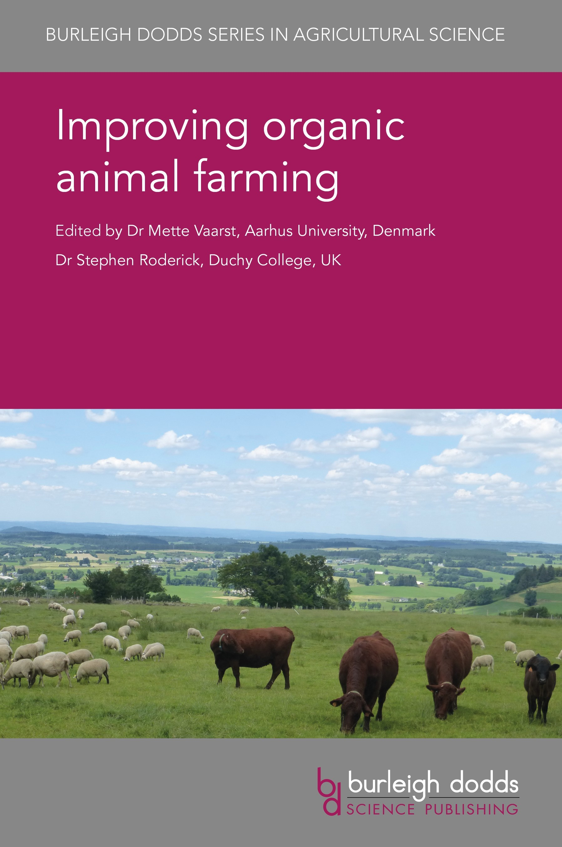 Burleigh Dodds Science Publishing | Agricultural Science in Print